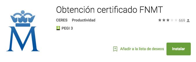 Enlace app certifiado digital